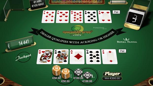 caribbean stud poker online live